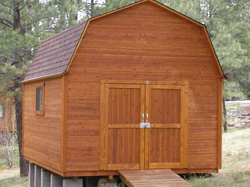Shed Pictures Design: High Country Custom Sheds